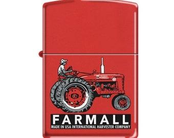 Farmall Red Tractor Zippo Lighter