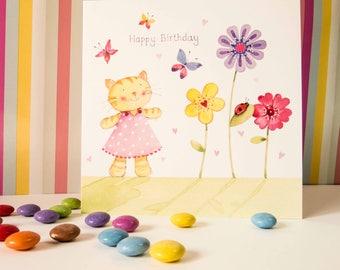 GB03 | Cat Birthday Card