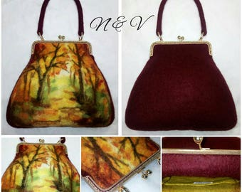 felted bag Mellow autumn