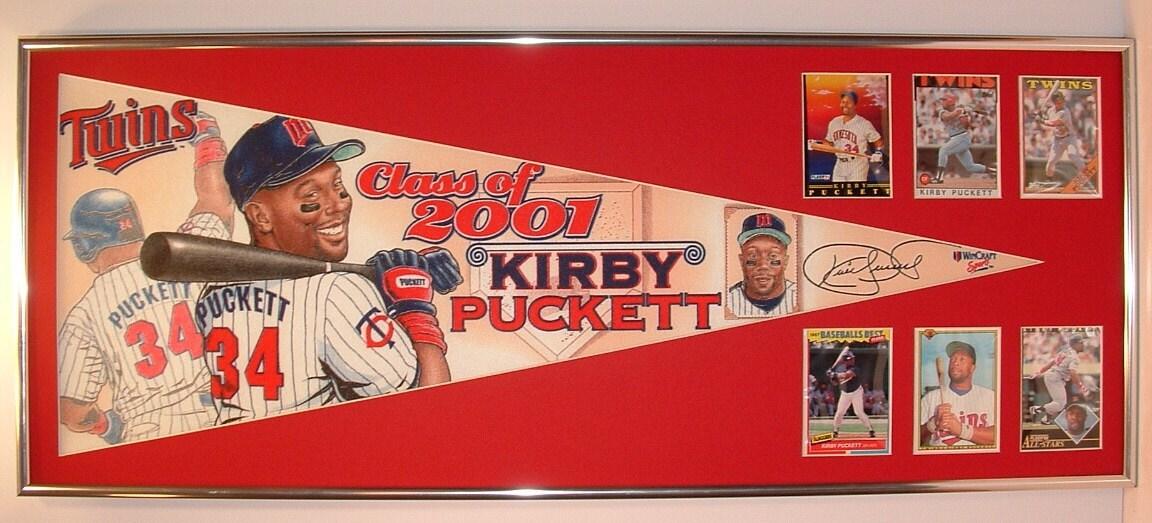 Tarjetas y Minnesota Twins Salón de la fama Kirby