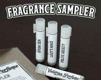 FRAGRANCE SAMPLER, Choose 4, Each vial contains 1ml of Fragrance, Perfume, Cologne