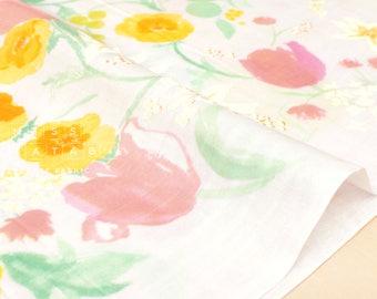 Nani Iro Kokka Japanese Fabric Fuccra : rakuen - I - 50cm