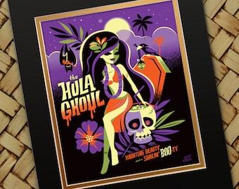 Hula Ghoul Print