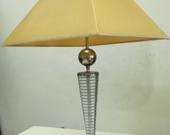 Versace Table Lamp Mod. Versace Cono C. Made In Italy 1990s