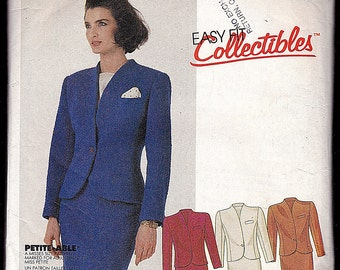 McCall's 2691 Easy Fit Collectibles,Miss Size 8