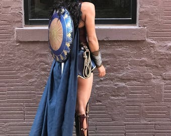 SHIELD ONLY with shoulder straps - Wonder Woman movie inspired - Made in USA
