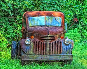 Old 1941 Chevy Farm Truck