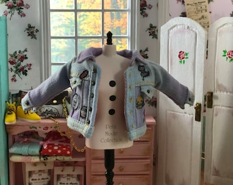 90's jacket for 1/6 doll
