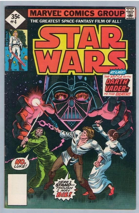 Star Wars 4 (Reprint) Oct 1977 FI (6.0)