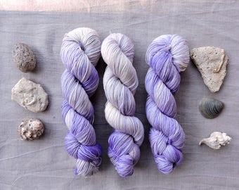 Amethyst- Hand Dyed Yarn -  DK 100% merino wool