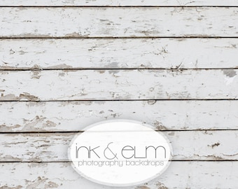 "Product Photography Backdrop 2ft x 2ft, Old White Wood Food or Product Backdrop, Vintage Old White Wood Background ""Weathered Whites"""