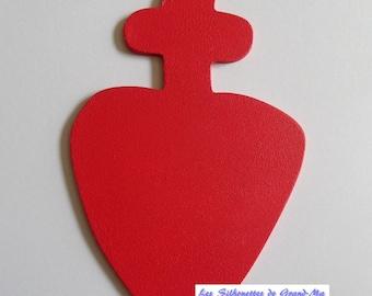 Chouan wall hanging wooden heart