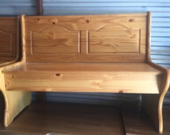 Double Entryway Storage Bench