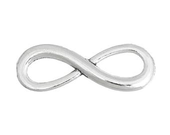 Connector separator 23 mm Pack of 5 infinity symbol