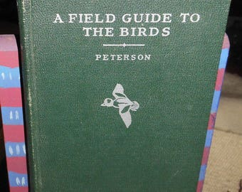 vintage book a field guide to the birds ca 1934 first ed