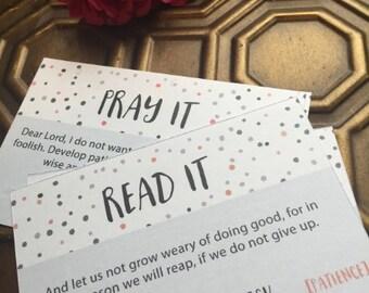 Patience - Read It Pray It Cards