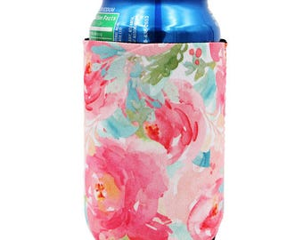 Summer Blooms Can Cooler