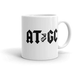 AT GC molecular biology DNA Mug