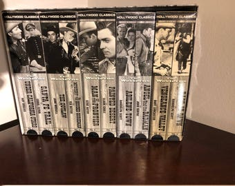 The Westerns Collectors Choice Hollywood Classics 10 Vhs Movies