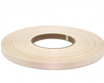 "White birch preglued wood veneer edgebanding   [1/2""to 3""x250']"