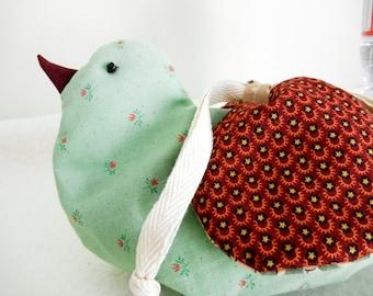 Bird Drawsrtings Bag - no.8