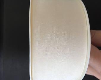 cream Organza Ribbon width 4cm