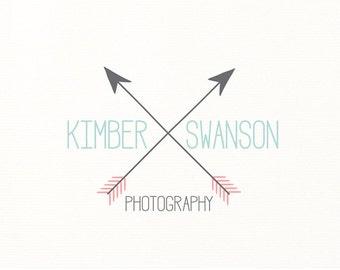 arrow logo premade logo photography - Logo Design #119