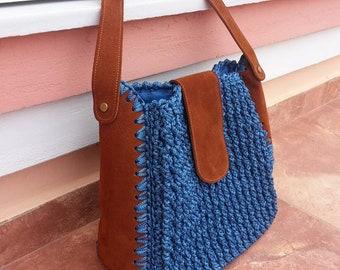 handmade bag with suet