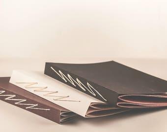 Lightning Stitch Handbound Book, Sketchbook, Notebook, Journal