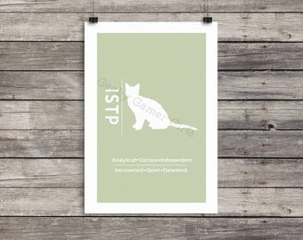 """ISTP Minimalist Poster 