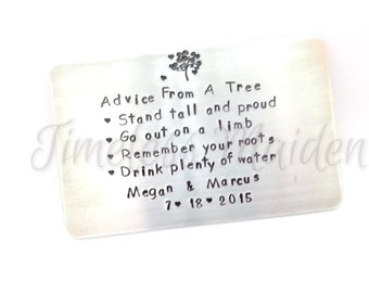 Sisters Gift   Mothers Gift   Anniversary Gift For Her   Engagemet Gift   Wedding Gift   Wallet Insert Card   Create Your Own Message