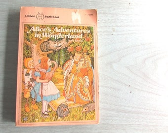 Alice's Adventures in Wonderland by Lewis Carroll 1981 Classic Literature
