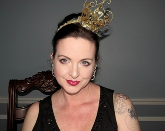 SASSY CROWN Party Fascinator Headband Hair Adornment