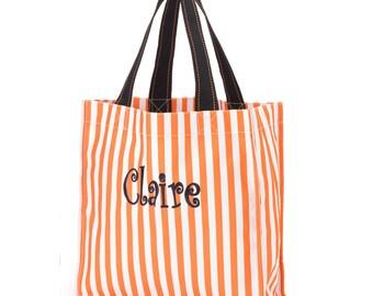 Trick or Treat bag, Halloween bag FREE MONOGRAMMING