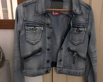 And Now Jeans Jacket Handmade