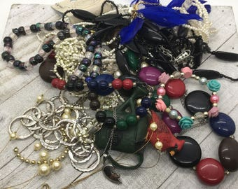jewelry lot, Random stuff, findings lot, Steampunk lot, tangled, crafters lot, junk drawer lot, huge lot, theoldsilverbarrel