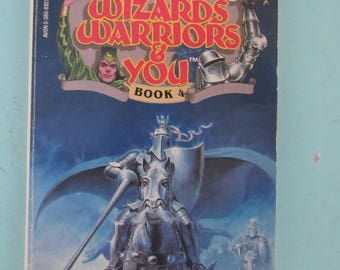 Wizards Warriors & You Book #4 Ghost Knights of Camelot 1984 David Anthony Kraft Free Shipping