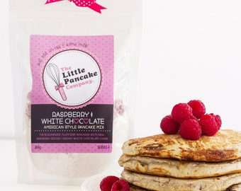 Pancake Mix - Raspberry & White Chocolate Pancakes