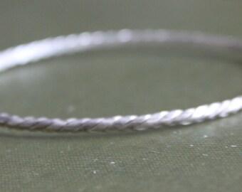 STERLING Silver Bracelet Bangle 925 Vintage