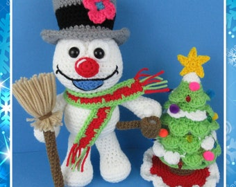Frosty The Snowman (PDF file only, this is not the finished doll)