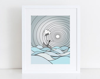 Taking It With Me - Art Print