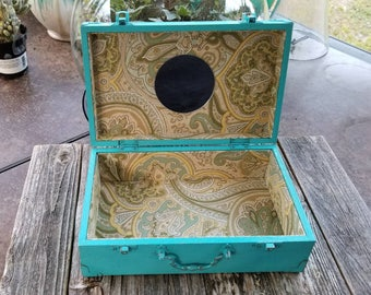 Rustic jewelry box Etsy