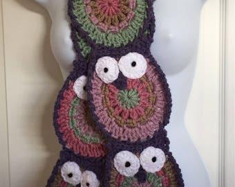 Owl Obsession Scarf