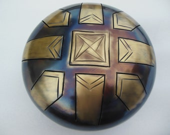 "9"" Steel Tongue Drum ""Fountain of Music"""