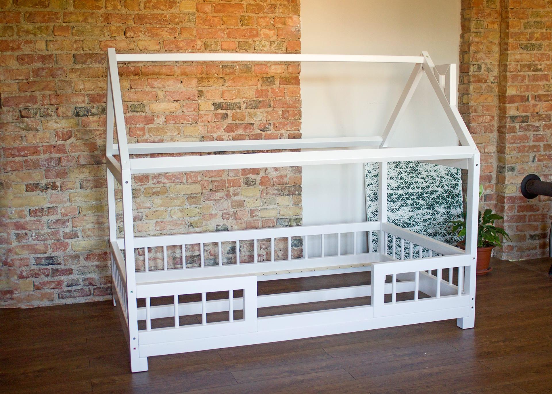Montessori-Bett Kinderbett Haus Kindermöbel