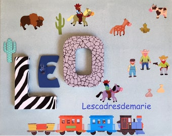birthday gift personalized - name 3 letters