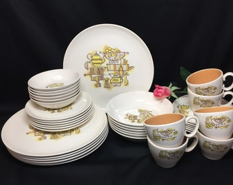 Service for 6 - Taylor Smith Taylor Country Kitchen - 36 pieces