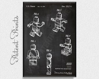 Game boy blueprint etsy building blocks mini figure patent print game blueprints game poster game print malvernweather Gallery