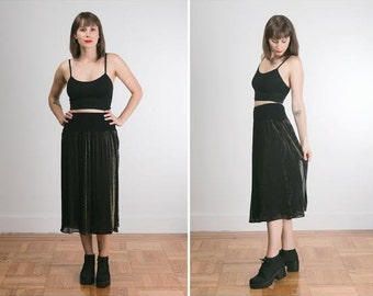 witchy girl long skirt