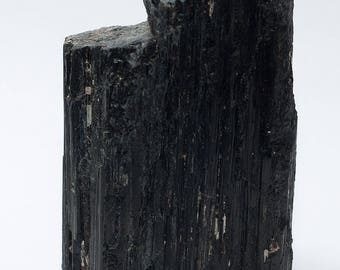 Black Tourmaline/Schorl Crystal XL No. 4 with stand area 900 grams